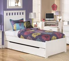 White Wooden Bedroom Furniture Bed U0026 Bedding Fill Your Bedroom With Chic Twin Bed With Trundle