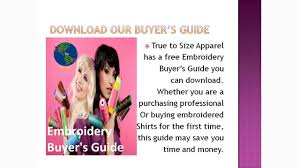 Custom Purchasing Custom Embroidered Polo Shirts True To Size Apparel Youtube