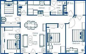 floor plans for 4 bedroom houses four bedroom house plans 4 bedroom floor plans 1 bedroom house