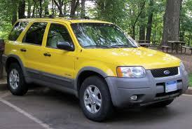 Ford Escape 2012 - file 2001 2004 ford escape 04 26 2012 jpg wikimedia commons