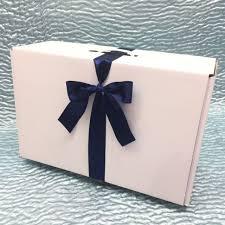 wedding dress box ella small wedding dress box with satin ribbon