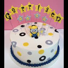 minion birthday cake dispicable me minion themed boy birthday cake garrison sweet