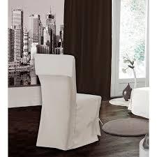 housse de chaise housse de chaise écrue 45 50cm