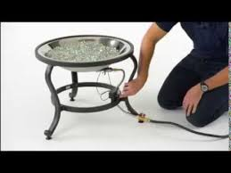 Gas Fire Pit Burner by How To Crystal Fire Gas Burner Installation The Outdoor