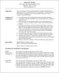 writing objectives for resume gallery of resume examples