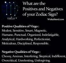 Funny Virgo Memes - positives and negatives 8 15 53 part 2 pinterest zodiac