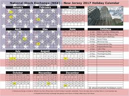 Market Holidays National Stock Exchange 2017 2018 Holidays Nsx Holidays 2017
