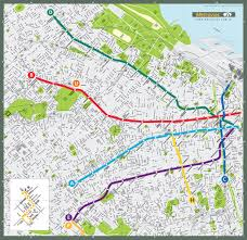 Buenos Aires Map Buenos Aires Subway Map Overlay