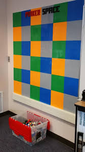 best 25 lego wall ideas on pinterest lego boys rooms lego lego wall in the washington elementary makerspace see step by step instructions from