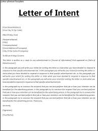 bunch ideas of sample job letter of intent for download proposal