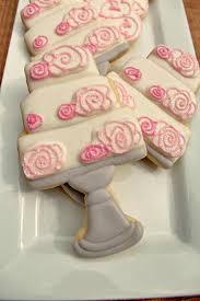 wedding cake cookies wedding cake cookies the bearfoot baker