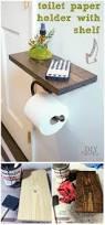 diy toilet paper holder ideas add decor to bathroom u2022 diy home decor