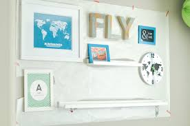 a travel themed gallery wall for our toddler son s room if