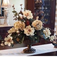 large magnolia silk floral arrangement ar263