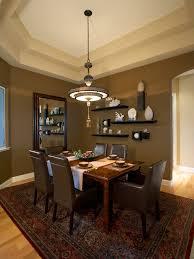Dining Room Shelves - Floating shelves in dining room