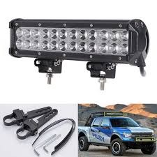 led tractor light bar 72w led tractor atv driving l led offroad work light bar free