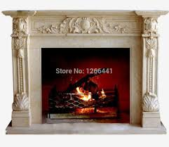 aliexpress com buy english style marble fireplace mantel frame