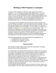 Writing PhD Proposal Standard Format for Preparing the Synopsis StudyChaCha