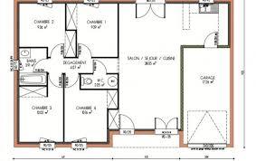 plan maison 4 chambre plan maison en l 4 chambres 5 6813 lzzy co