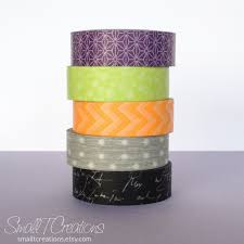 halloween tape small t creations my new etsy shop halloween washi tape sets