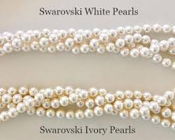 ivory pearl draping pearl and wedding headpiece camomile jules