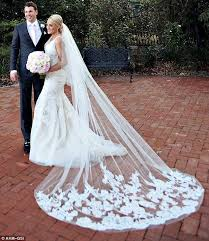 wedding veils beautiful cathedral length wedding veils two layers lace