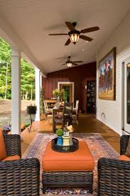 Dark Wicker Patio Furniture by Ideas Tropical Patio Design With Casablanca Ceiling Fans And Dark