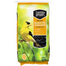 berkley jensen premium black oil sunflower wild bird food bj u0027s