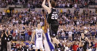 list of top 10 butler basketball games starts with memorable loss