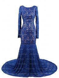 long prom dress royal blue prom dress lace prom dress long