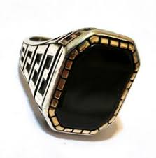 rings for men in pakistan ring nishapur tibet turquoise blue high quality