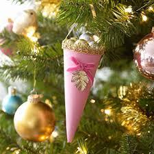 diy cone ornaments decorations