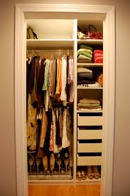 Small Bedroom Closet Design Furniture Small Bedroom Closet Using White Organizer With Shelf