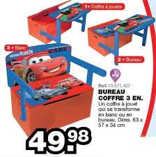 bureau coffre 3 en 1 maxi toys promotion bureau coffre 3 en cars voitures jouets