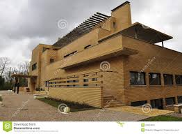 modernist architecture villa cavrois modernist architecture roubaix france stock image