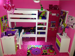american doll house the pink bedroom we made the bunk bed