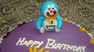 happy birthday muskaan fondant doraemon cake cash shopping