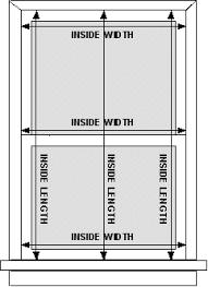 window measurements measurement instrucitons