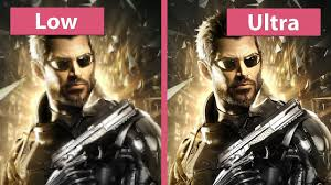 deus ex mankind divided u2013 pc low vs medium vs high vs ultra pc