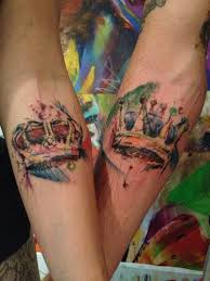 of crown tattoos designs royally amazing