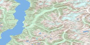 Desolation Sound Map Orford River Bc Free Topo Map Online 092k10 At 1 50 000