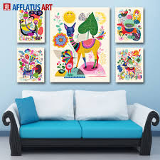 online buy wholesale pop art print from china pop art print afflatus wall art painting pop nordic animals canvas painting canvas poster watercolor prints wall pictures kids