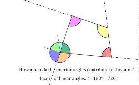 Adjacent Interior Angles Interior Angles Quadrilateral Youtube