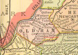 map of oldham oldham county kentucky 1905 map la grange ky