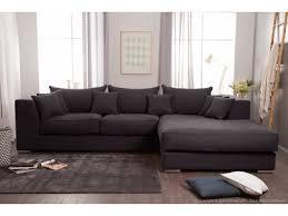 canap d angle confortable canapé d angle en coton et avec grande méridienne edward canapes