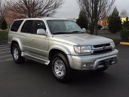 toyota 4runner limited 4wd 2002 toyota 4runner sr5 limited leather 4wd moon roof v6 low