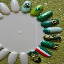 beautiful st patrick u0027s day acrylic nail designs