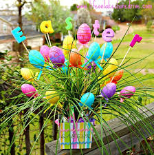 Easter Decorations Table Ideas by 123 Best Easter Outdoor Decorations Images On Pinterest Easter