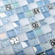 tst crystal glass tiles blue glass mosaic tile iridescent mosaic