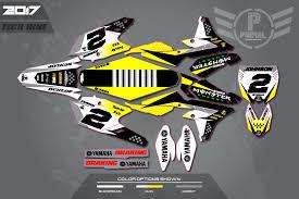custom motocross helmet wraps yamaha primal x motorsports motocross graphics atv graphics